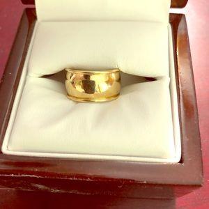 Jewelry - 14K Wide Gold Wedding